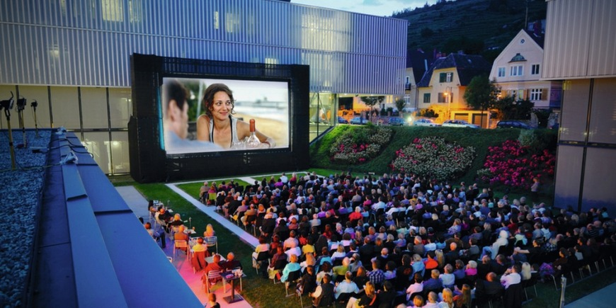 Open Air Kino im Kesselhaus